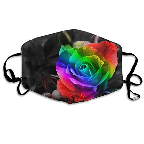 Sam-Uncle Anti Dust Face Mouth Cover Mask Rainbow Rose Anti Pollution Breath Healthy Mask