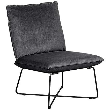 Super Tommy Hilfiger Ellington Armless Lounge Chair Dark Charcoal Short Links Chair Design For Home Short Linksinfo
