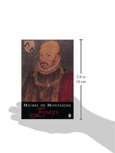 montaigne essays on vanity The confessions of montaigne  there are frequent moments in the essays in which montaigne appears to  anti-rhetorical essay ―on the vanity of words.
