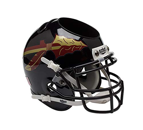 Schutt Sports Florida State Seminoles Football Helmet Desk Caddy, Black Alternate 1