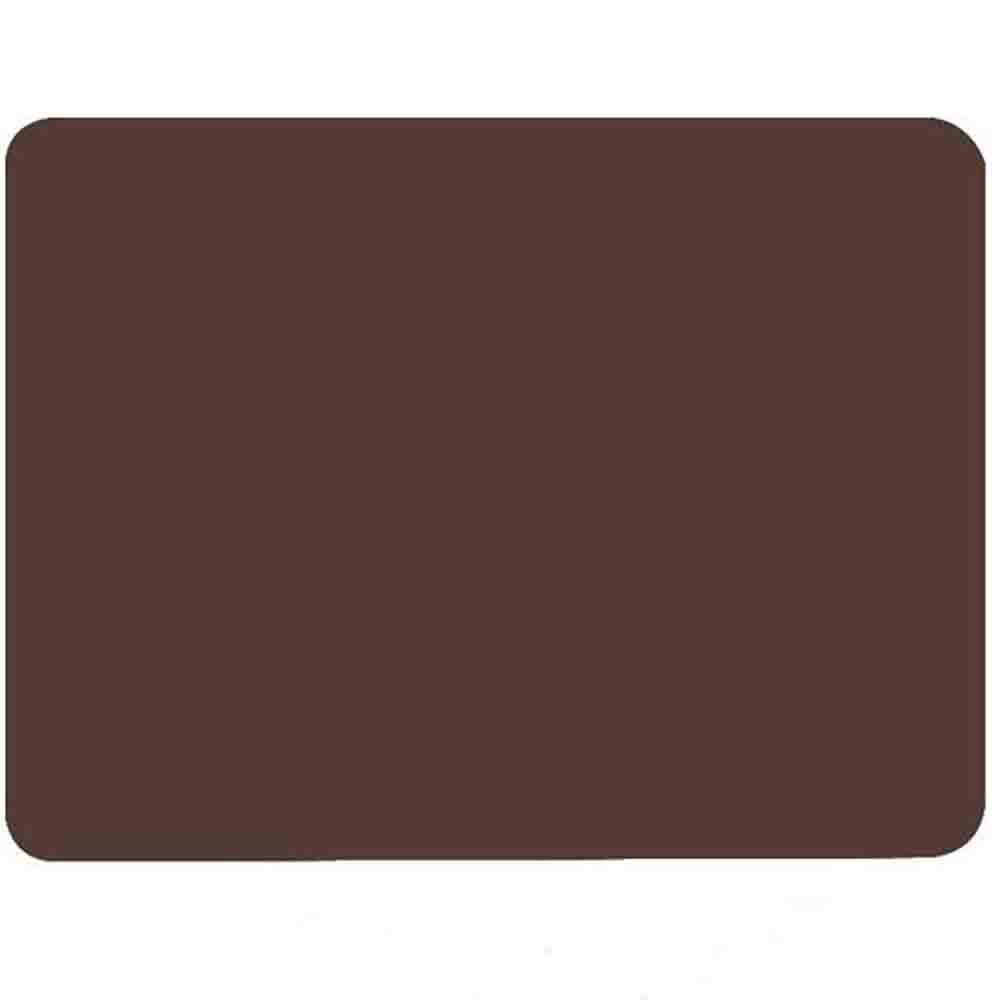 Allscarf007 Large Washable Silicone Student Table Mat, Nonstick Heat Resistant Nonskid Pad, Countertop Protector, Thick Big Baking Oven Counter Children Table Mat, Brown