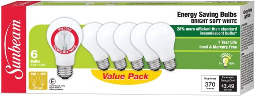sunbeam halogen light bulbs - 2