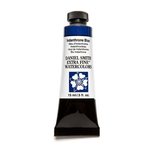 Daniel Smith Extra Fine Watercolor 15Ml Paint Tube  Indanthrone Blue