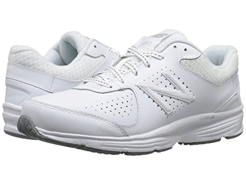 (ニューバランス) New Balance レディースウォーキングシューズ?靴 WW411v2 White 8 (25cm) B - Medium
