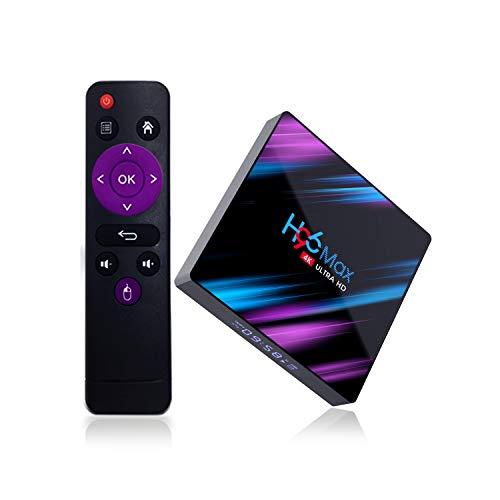Hd 4 Gb Ram - Android 9.0 TV Box 4GB RAM 64GB ROM, KFiAQ Android Box Quad-Core 64bit Dual-WiFi 2.4G/5.0G,3D Ultra HD 4K H.265 USB 3.0 BT 4.0 Smart TV Box