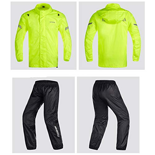 Moto E Sottili Yellow Pantaloni Adulti Per color Guyuan Donne Impermeabile Affari Split Equitazione S Uomini Macchina Tuta Size Black Pesca Poncho f7tRtZ