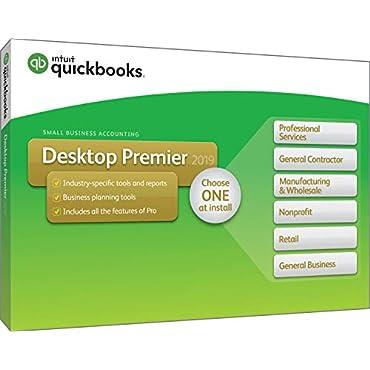 QuickBooks Desktop Premier 2019 [PC Disc]