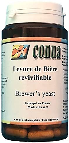 Levadura de cerveza viva 120 cápsulas: vigorizante digestión ...