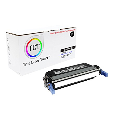 TCT Premium Compatible Toner Cartridge Replacement for HP 642A CB400A Black Works with HP Color Laserjet Enterprise CP4005 CP4005N CP4005DN Printers (7,500 Pages)