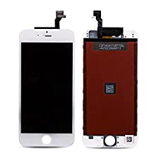 "Rabbitstorm® LCD display Touch Screen Digitizer Assembly for iPhone 6 (4.7"") with free tools - White"