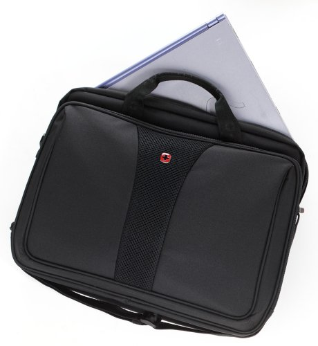 Patriot from Swiss Gear by Wenger Triple Gusset Rolling Computer Case w/Removable Tote by Wenger (Image #4)