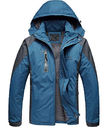 Snowproof Blue Hoode Warm Down Thicken Denim Men Jacket Howme Windproof Waterproof pgnOY
