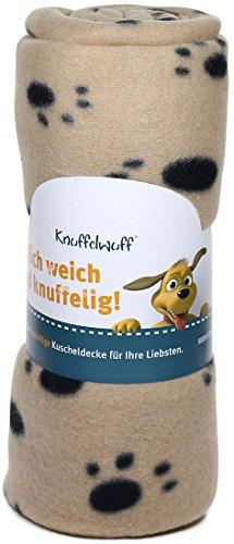 Knuffelwuff 13006 Fleece Haustierdecke, 100 x 70 cm