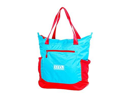 - ENO - Eagles Nest Outfitters Relay Festival/Yoga Tote, Messenger Bag, Aqua/Red