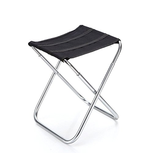 NUOLUX Portable Alumium Folding Stool for Camping, Fishing, Picnic Outdoors Sports by NUOLUX