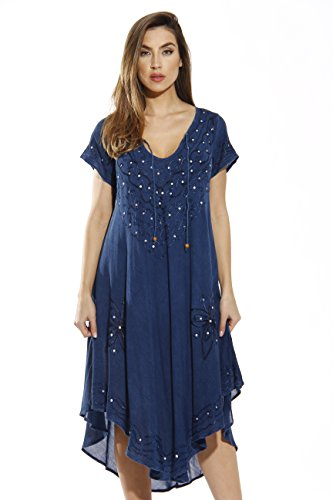 Riviera Sun 21600-MEDDENIM-M Dress/Dresses for Women