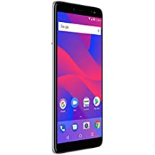 """BLU Vivo XL3-5.5"""" HD+ 18:9 Display Smartphone with Android 8.0 Oreo –Silver"""
