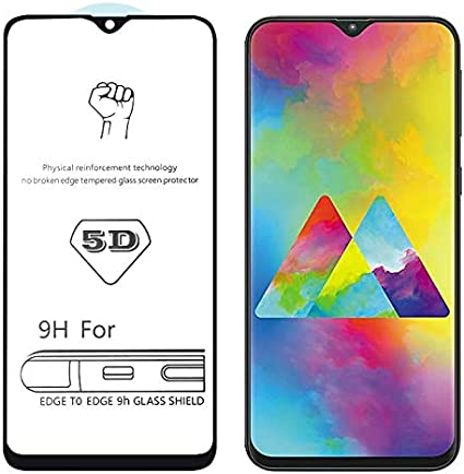 9H Dureza 5D completa Pegamento Smartphone frontal cubierta de la ...