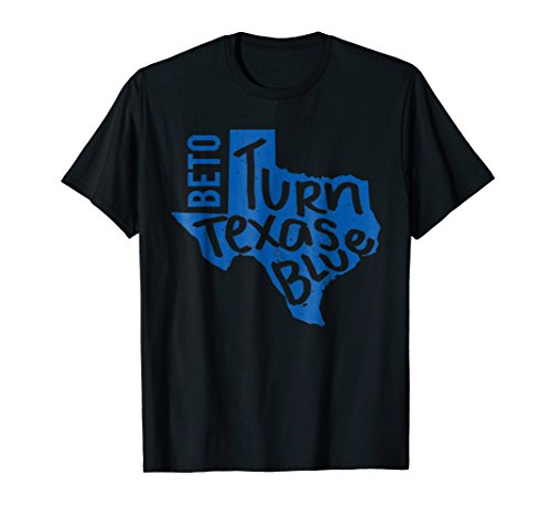 Beto Turn Texas Blue Senate Distressed Vintage T Shirt