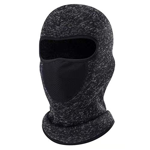 BSTPOWER Balaclava - Windproof Ski Mask - Cold Weather Face Mask for Skiing, Snowboarding, Motorcycling & Winter Sports. Ultimate Protection from The Elements Black