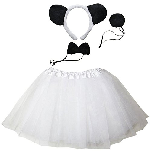 Kirei Sui Kids Costume Tutu Set White -