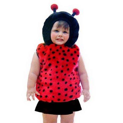 Ladybug Vest Infant Costume - 24 Months