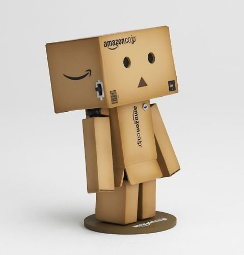 [Revoltech Danbo Mini Danboard Amazon Japan Box Version Figure LED Light-Kaiyodo] (Buffalo Bob Costume)