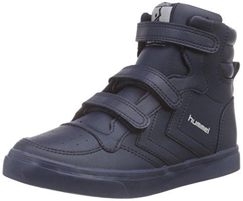 hummel STADIL TONAL JR HI, Unisex-Kinder Hohe Sneakers, Blau (Dress Blue 7459), 36 EU