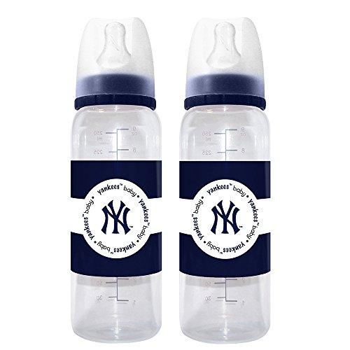 MLB New York Yankees Baby Bottles, 2-Pack