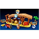 Fisher-Price Little People Deluxe Christmas Story Nativity Set with Creche, Wise Men, and Shepherds (