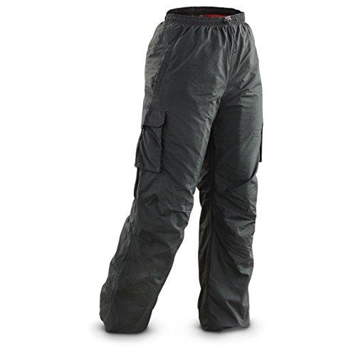 Guide Gear Women's Fleece-lined Cargo Snow Pants, Black, L