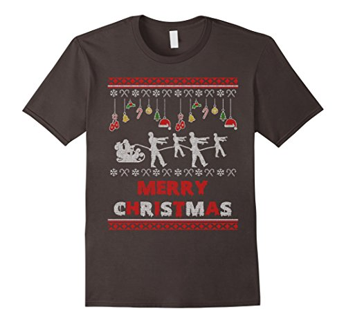 Zombie Christmas Ugly Sweater T-shirt