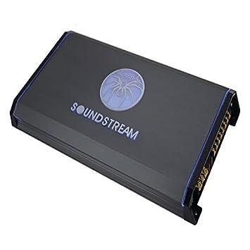 Soundstream t1.6000dl 6000 W tarántula serie Mono bloque clase D amplificador de coche: Amazon.es: Coche y moto