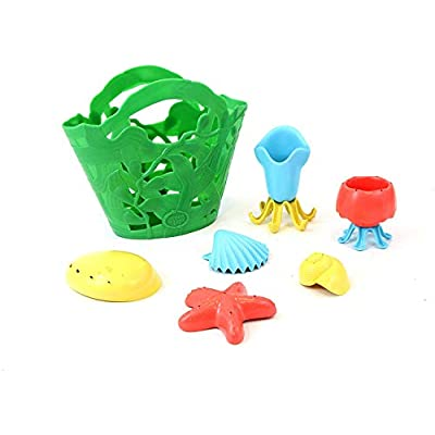 Green Toys Tide Pool Bath Set, Assorted: Toys & Games