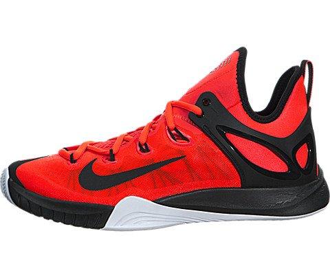 Nike Men's Zoom Hyperrev 2015 Bright Crimson/Black/White Basketball Shoe 8.5 Men US