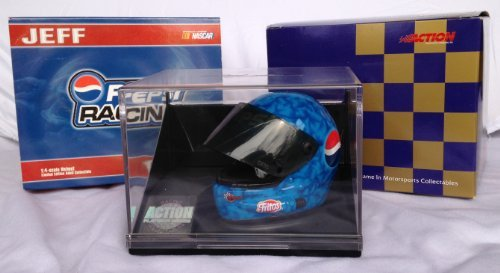 JEFF GORDON #24 NASCAR Limited Edition 1 of 6,000 MINIATURE 1:4 Scale PEPSI RACING HELMET -