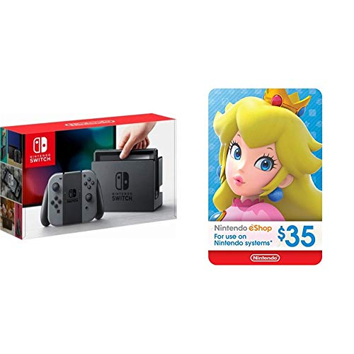 Nintendo Switch - Gray Joy-Con + $35 Nintendo eShop Gift Card [Digital Code] from Nintendo