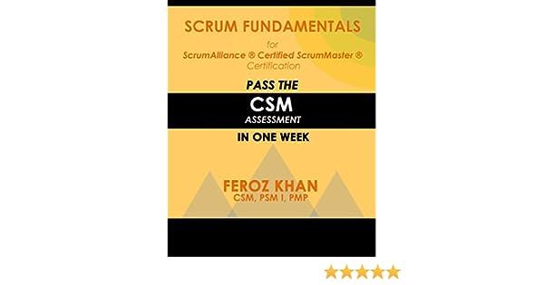 Amazon.com: Scrum Fundamentals for ScrumAlliance (R) ScrumMaster (R ...
