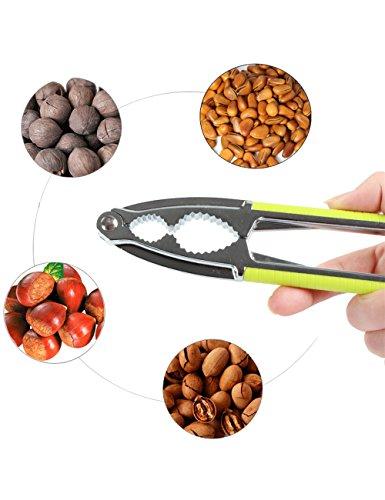 Fani Nut Crackers Walnut Cracker Heavy Duty Shell Cracker Seafood Cracker Walnut Opener Tool with Non-slip ()