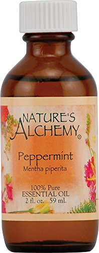 Nature's Alchemy Essentials Oil, Peppermint (Mentha Piperita), 2-Ounce Bottle