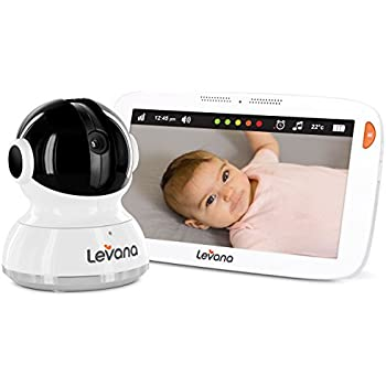 Levana Aria 7inch Touchscreen Video Baby Monitor with PTZ Camera