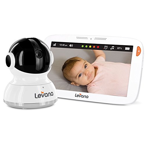 Levana Aria 7inch Touchscreen Video Baby Monitor with PTZ Camera by Levana