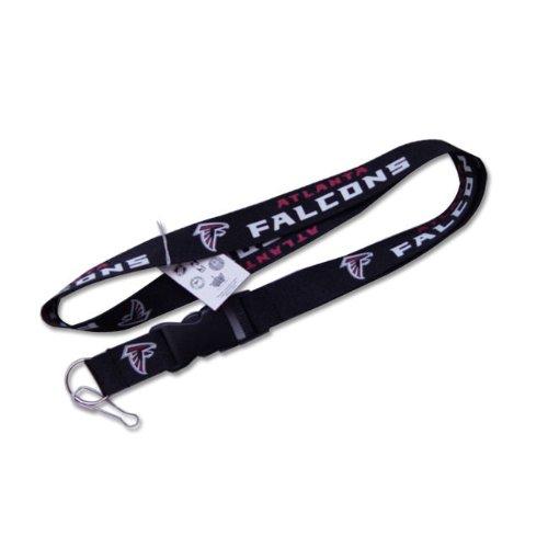 Atlanta Falcons Clip Lanyard Keychain Id Ticket Holder - Black by aminco