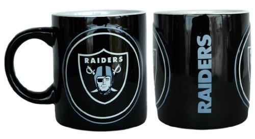 Boelter Brands Sculpted Warm Up Coffee Mug, Oakland Raiders
