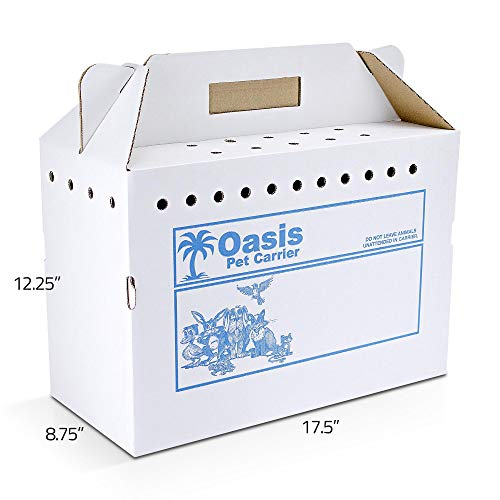 American Health Service 010AHS-PET-C Oasis Disposable Pet Carrier