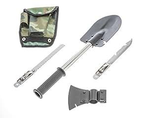 Sona 9-in-1 Emergency Shovel Tool Kit