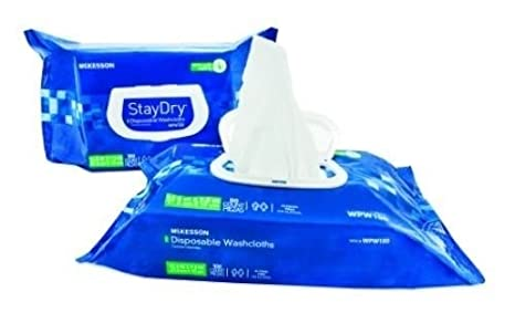 Amazon.com : McKesson StayDry Wipes 12