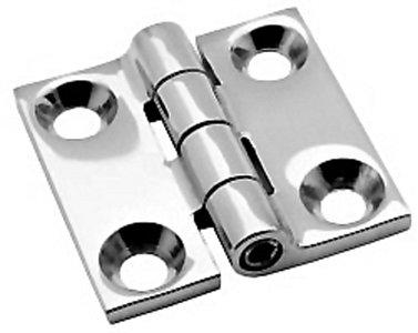2 x 2 BUTT HINGE Stainless Steel Pair