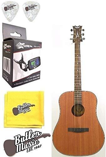 Dean AX D GN – Guitarra acústica dreadnought, madera natural ...