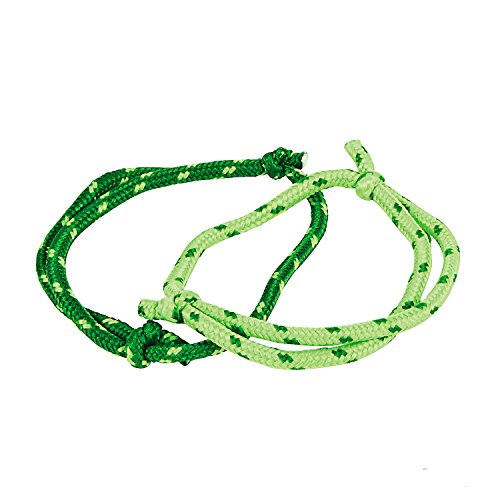 St Patricks Day Rope Bracelets 72 Pack by Fun Express